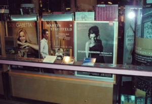 Dortmund Konzerthaus window poster